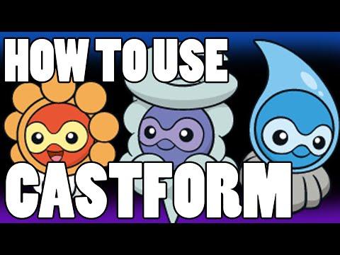 CASTFORM OP?! Castform Strategy Guide ORAS / XY