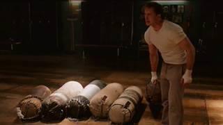 Captain America extended punching bag scene in The Avengers