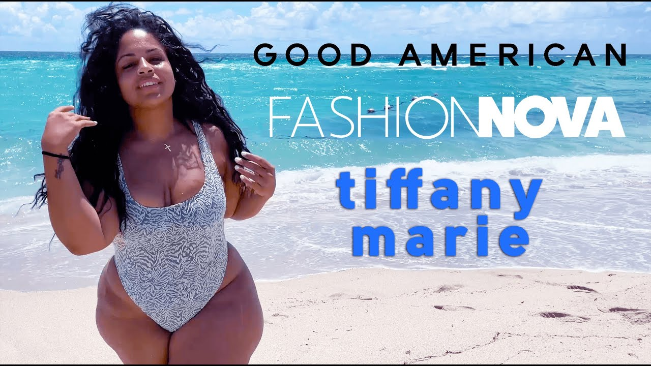 Tiffany Marie Sports Curve Swimsuit Summer Fashions