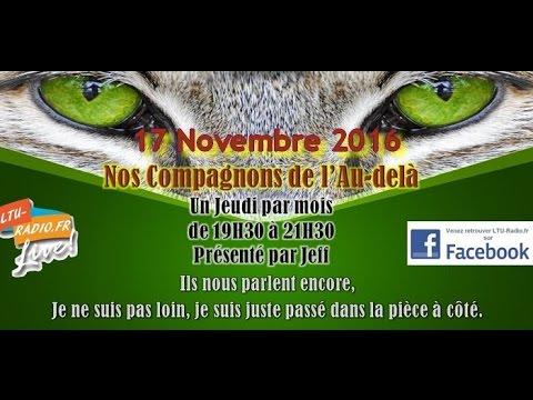 Nos compagnons de l'au-delà - médiumnité animale par jeff voyance - 17 11 2016