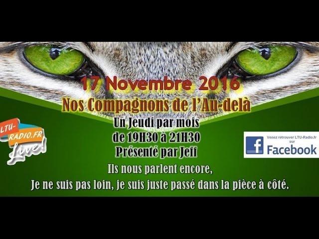 nos compagnons de l'au delà mediumnité animale par jeff voyance 17 11 2016
