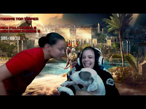 Assassin's Creed Origins Twitch stream replay! RECORD BREAKING EPIC STREAM!