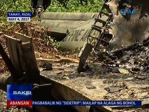 Saksi: Bayaning PIloto: Mga bahay sa Tanay, Rizal iniwasang mabagsakan ng helicopter