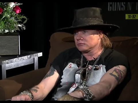 Guns N' Roses Axl Rose On How He Reunited With Slash & The Man Responsible For The Reunion