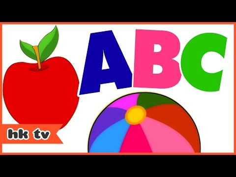 ABC Songs For Children | ABC Phonics Song | Nursery Rhymes | Hooplakidz TV