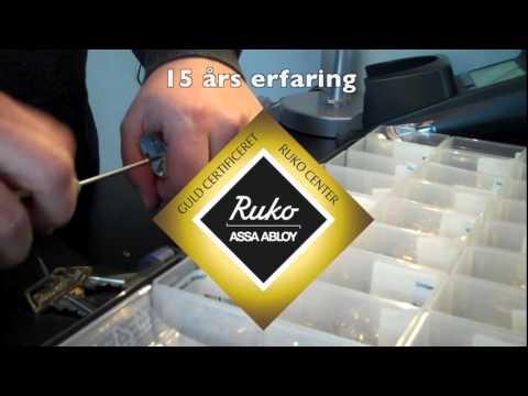 HV Låseteknik er Guld Certificeret RUKO Center