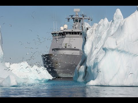 Moses Divide the Red Sea, Icebreaker Ship Divide Ice Covered Waters - G Documentary