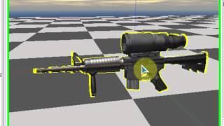 NeoAxis Engine - Практика (Создание огнестрельного оружия)
