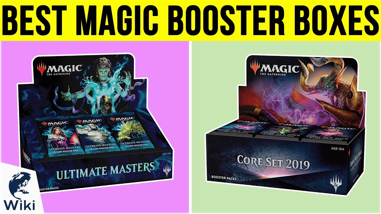 Top 10 Magic Booster Boxes of 2019 | Video Review