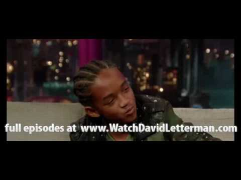 Jaden Smith in The Late Show with David Letterman 2010-06-10