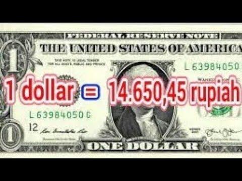 TERJAWAB! 1 Dollar Berapa Rupiah