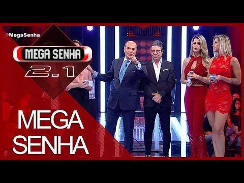 Mega Senha com João Kléber e atrizes das pegadinhas (17/11/18) | Completo