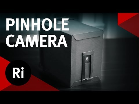 How to make a pinhole camera with paper