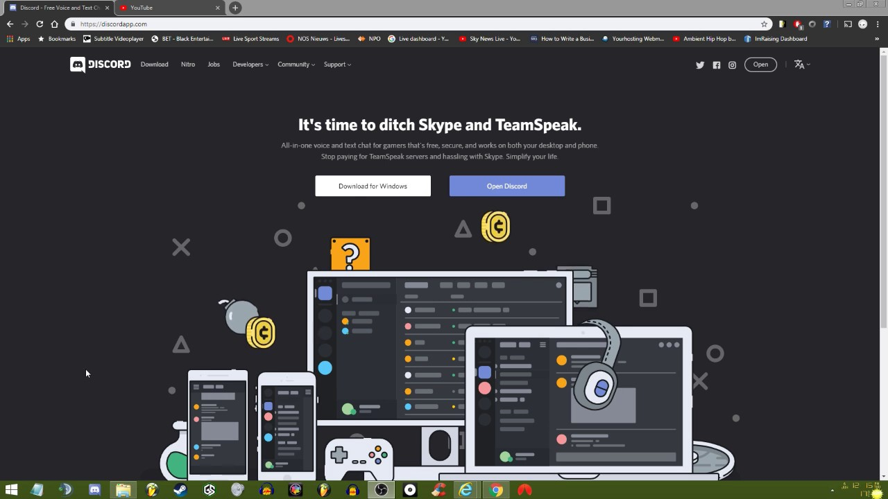 Discord Screen Share Extension - #GolfClub