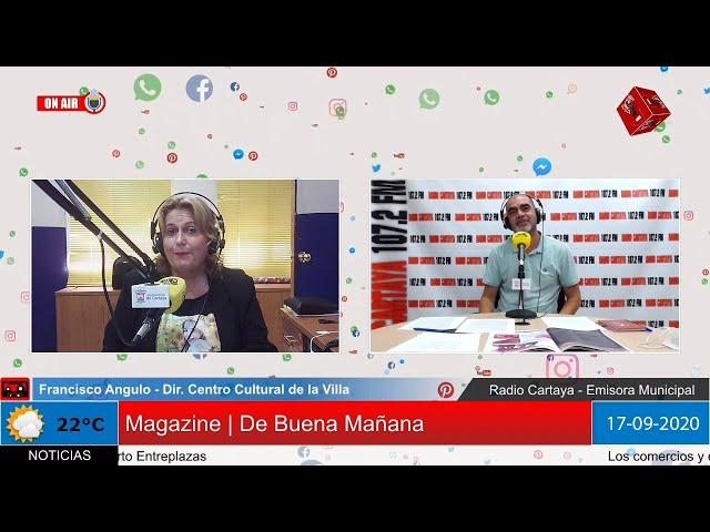 Radio Cartaya | Ya esta en marcha la programación cultural de otoño e invierno