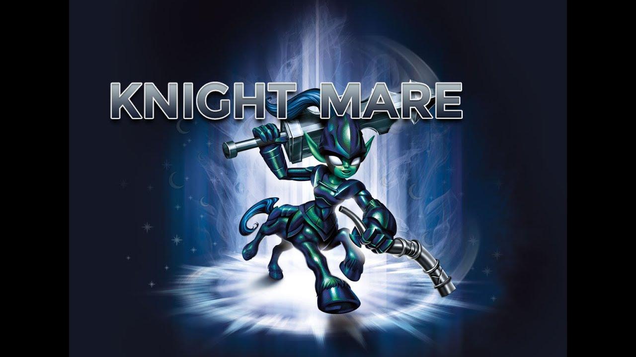 Skylanders: Trap Team - Knight Mare Gameplay Video - YouTube