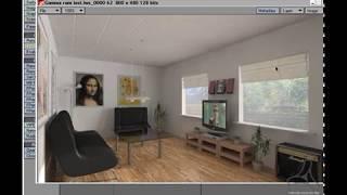Tutorial, Getting started with lightwave interior rendering