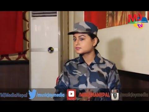Shilpa Pokharel   New Nepali Movie   जनताको सेवा गर्ननायिका शिल्पा पोखरेल सशस्त्र प्रहरीमा