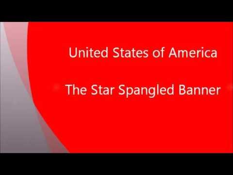 American national anthem