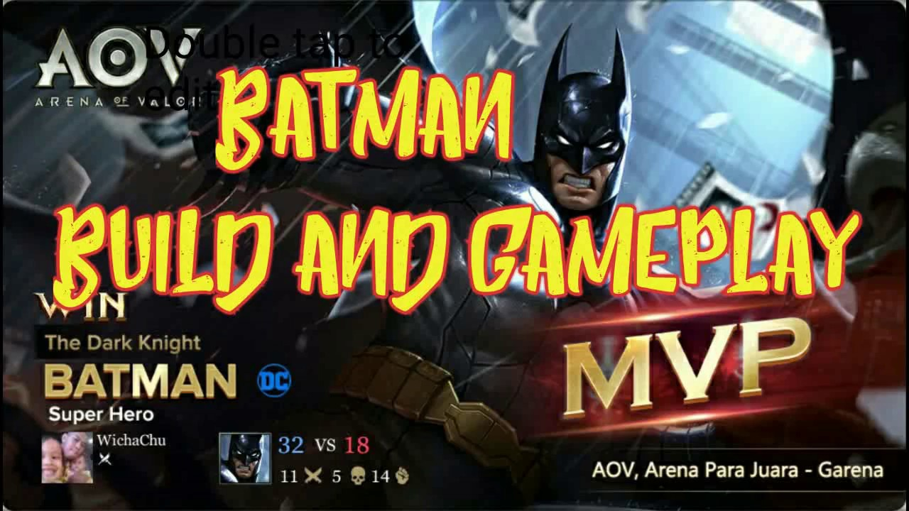 Aov Batman Arena Of Valor Build And Gameplay