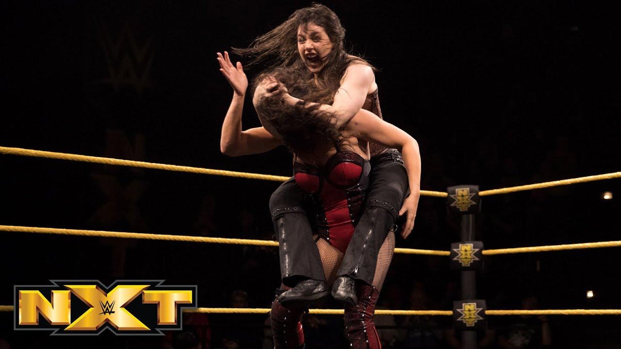 Nikki Cross vs. Vanessa Borne: WWE NXT, Feb. 21, 2018