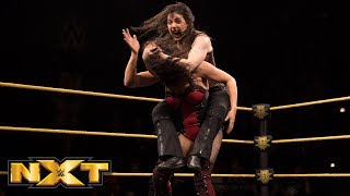 Nikki Cross vs. Vanessa Borne: WWE NXT, Feb. 21, 2018