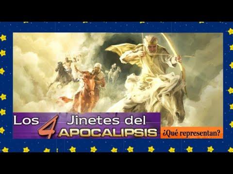 ¿Qué representan los 4  jinetes del Apocalipsis?