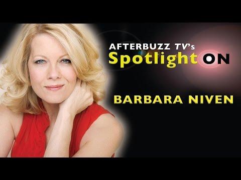 Barbara Niven   AfterBuzz TV's Spotlight On