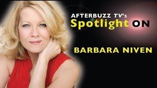 Barbara Niven Interview   AfterBuzz TV's Spotlight On