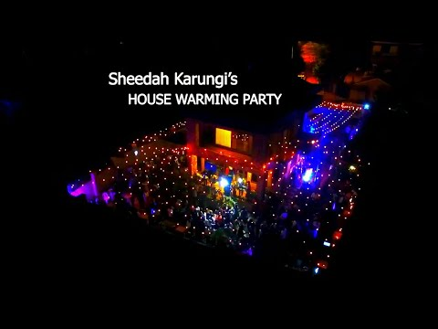 Sheebah thanks Jeff wholeheartedly at her housewarming  party