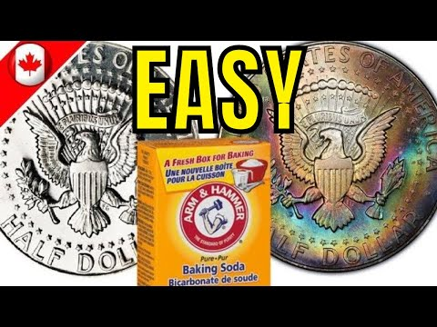 BEST Way To Clean Silver   Coins & More