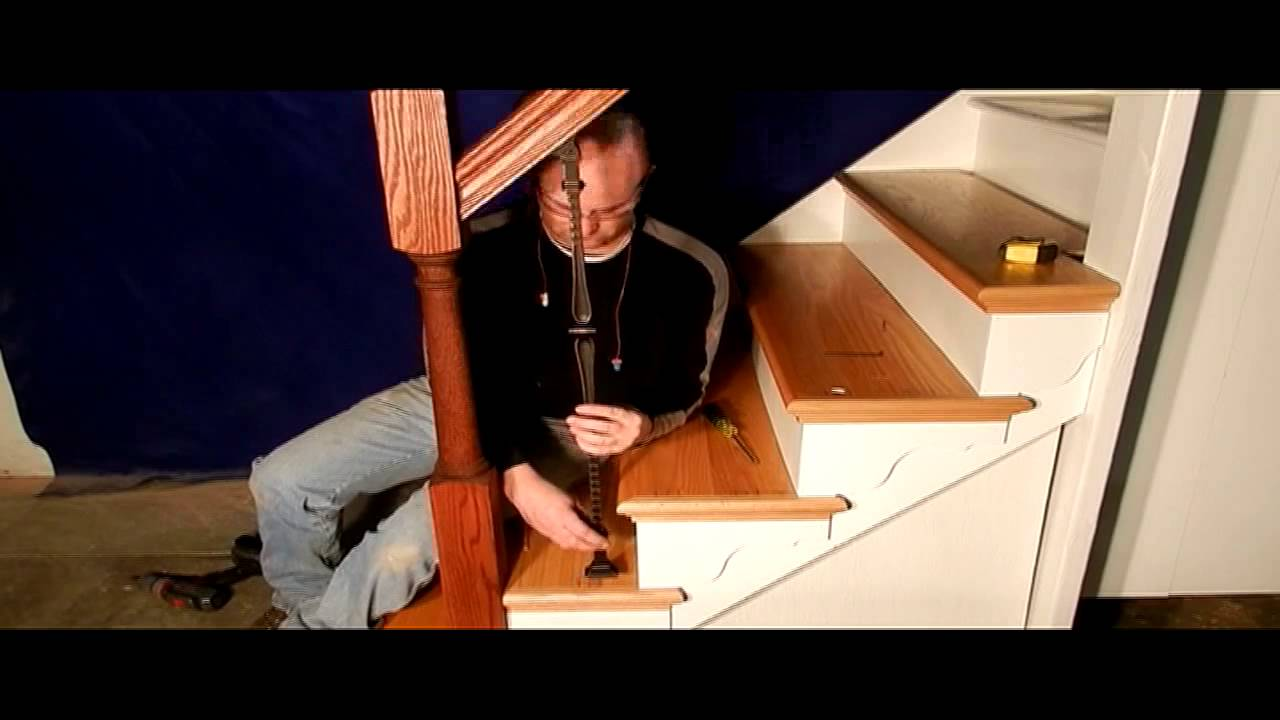 Amazing How To Install Adjustable Balusters