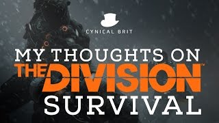 TotalBiscuit's thoughts on The Division: Survival