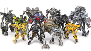 Transformers Movie 2007 Studio Series Autobots Decepticon 12 Robot Toys