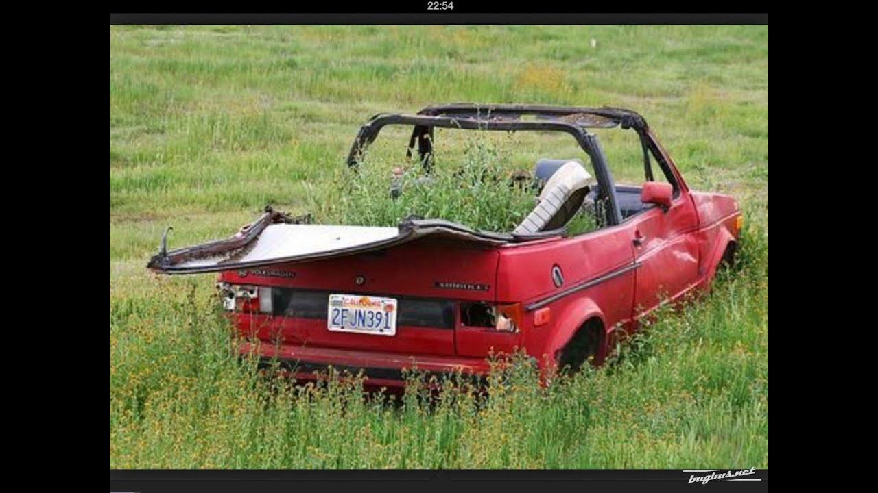 Forgotten VW Golf mk1 cabriolet-convertible.( VW rabbit for USA ...