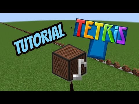Minecraft Tutorial: Tetris Theme with Note Blocks