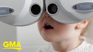 Rise of kids' vision troubles leaves doctors stumped l GMA