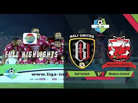 Bali United (2) vs (0) Madura United - Full Highlight | Go-Jek Liga 1 bersama Bukalapak