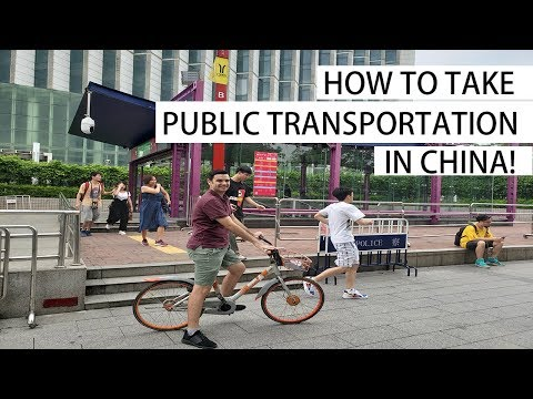 How to Travel in China | Bike, Bus, Subway, Taxi, Bullet Train