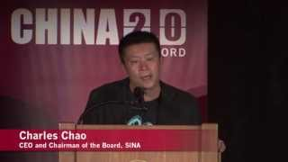 Charles Chao, CEO of SINA: Social Media Impacts Traditional Media Industry