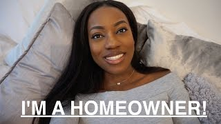 I'M A HOMEOWNER AT 23 | Paint fumes, IKEA & Microwave Food #MOVING VLOG EP1