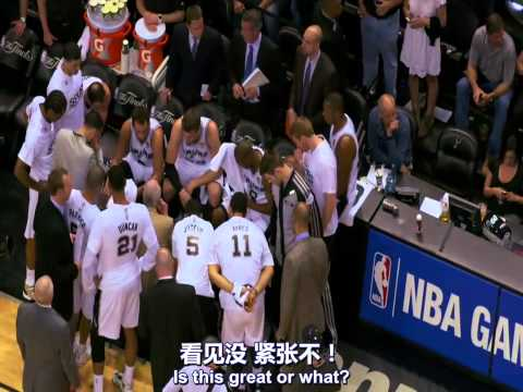 2014 NBA Champions San Antonio Spurs HD Documentary 中文字幕