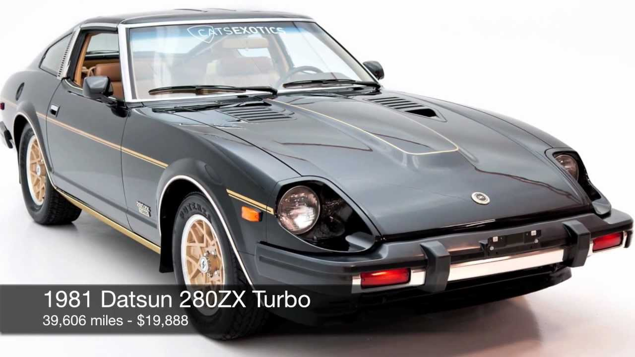 1981 datsun 280zx turbo for sale - youtube
