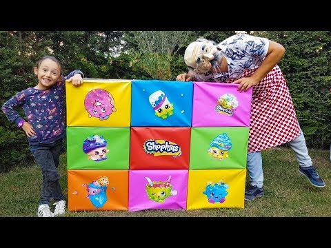 Giant Smash Surprise Toys with 脰yk眉 and Grandpa Incredible - Funny Oyuncak Av谋 脰yk眉