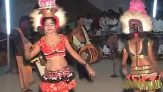 Karakattam Hot Dance Latest Tamil Village kuravan kurathi attam  2016
