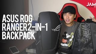 ASUS ROG Ranger 2-in-1 Backpack Quick Review