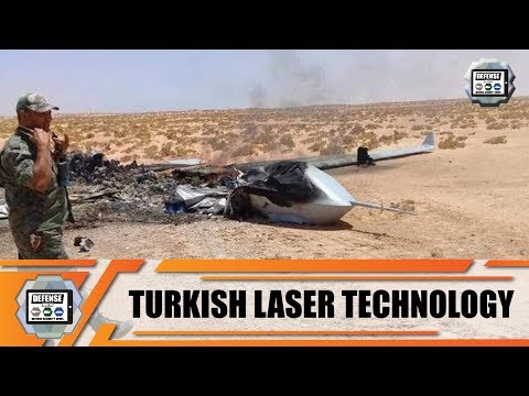 Laser Weapons Of The Turkish Defense Industry Technology Turkey Able To Shoot Down Drone