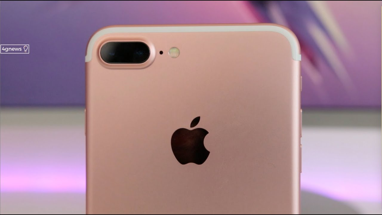 apple iphone 7 plus rose gold unboxing e primeiras impress es youtube