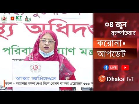 প্রতিদিনের করোনা আপডেট । COVID19 | DGHS | DHAKA | BANGLADESH