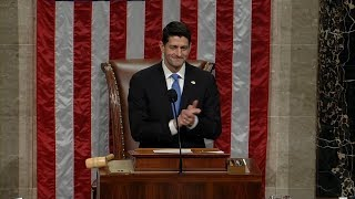 House debates, votes and passes GOP tax bill
